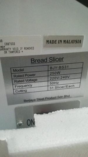 Máy cắt bánh mì sanwich - BS 31