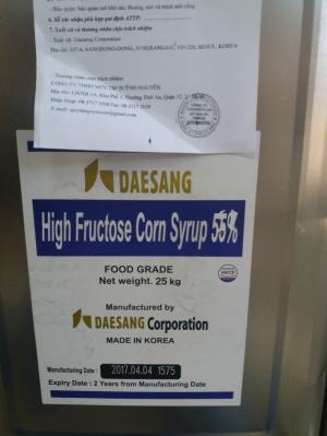 Đường hoa quả, đường syrup, High Fructtose corn syrup 55%