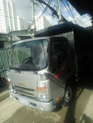 Xe tải Jac 1t99 cabin vuông isuzu cao cấp, trả góp 80%