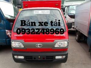 Bán xe tải, ô tô tải thaco towner 800 tải trọng 900kg giá rẻ tại Hải Phòng