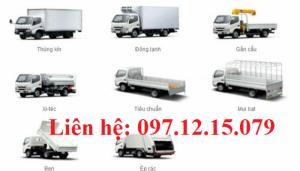 Xe tải hino 1,9 tấn XZU650L giá rẻ, chất lượng hàng đầu thế giới