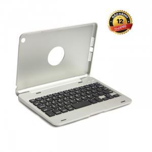 Bàn phím Bluetooth ốp lưng ipad mini 4 Phụ kiện cho bạn (silver)