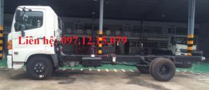 xe tải hino 6,4 tấn FC9JJSW chasis có thể đóng nhiều loại thùng, xe cơ sở, phù hợp với điều kiện làm việc ở việt nam