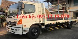 xe tải hino 6,4 tấn FC9JJSW thùng lửng