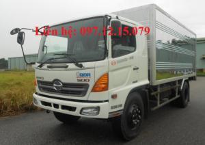 xe tải hino 6,4 tấn FC9JJSW thùng kín