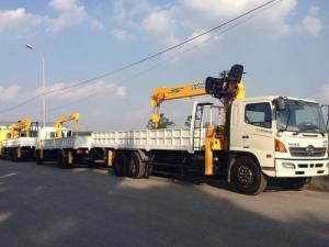 xe tải hino 24 tấn đóng cẩu