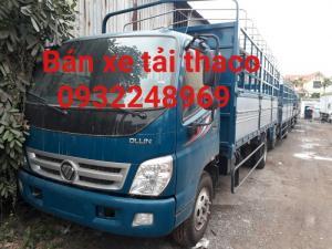 Bán xe tải thaco 5 tấn,ollin 500b tải trọng 5 tấn giá rẻ tại Hải Phòng