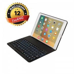 Bàn phím ốp lưng Bluetooth iPad Air tích hợp đèn LED BH 12 tháng