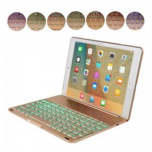 Bàn phím Bluetooth iPad Air 2017 pin sạc keyboard tích hợp LED