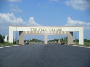 Cổng chào KDC The Star Village