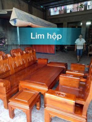 Bộ Bàn Ghế Âu Á Kiểu Như Ý Tay Hộp Gỗ Lim...
