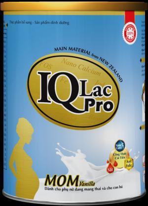 Sữa dành riêng cho mẹ nghén IQ MOM Vani- 900g