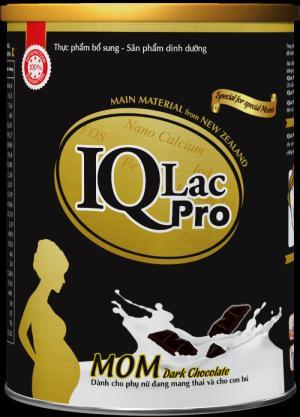 Sữa dành riêng cho mẹ nghén IQ MOM Dark Chocolate- 900g