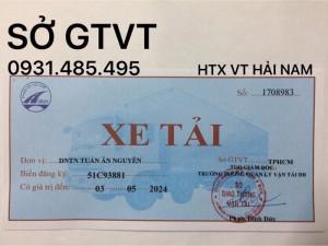 Nhận cấp Phù Hiệu Xe tải, Xe đầu kéo container, xe hợp đồng ở Đà Nẵng