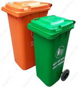 Bán thùng rác 240 lít giá tốt.