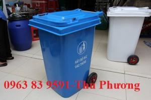 Cung cấp thùng rác composite 55 lít - 95 lít