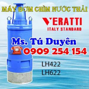 Bán máy bơm chìm nước thải Veratti giá rẻ cạnh tranh