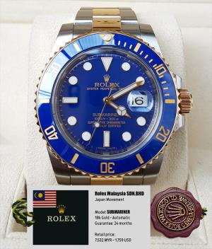 Mẫu số 2: Đồng hồ nam - Giá bán 6.000.000