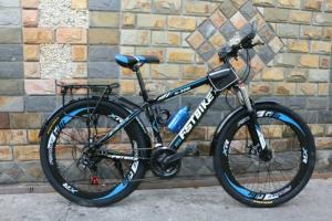 Xe đạp địa hình FST N306 màu xanh nhập khẩu...