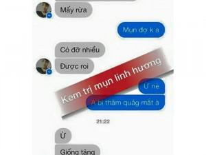 Kem trị mụn Linh Hương