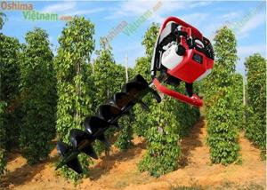 Phân phối Máy khoan lỗ trồng cây Oshima 2ps, Oshima 2P, máy khoan đất trồng cây Oshima giá tốt