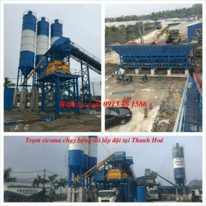 Trạm trộn máy trộn bê tông JS750 nhập khẩu giao hàng toàn quốc