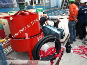 Thùng khuấy vữa JW180, JW500 dùng cho máy bơm vữa sika