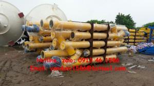 Vít tải xi măng LSY200, LSY250, SDMIX, SICOMA