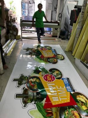 In PP giá rẻ làm poster chương trình giảm giá