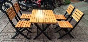 Chuyên cung cấp sỉ và lẻ bàn ghế ngoài trời chuẩn xuất khẩu • Nguyên liệu: sắt mỹ nghệ