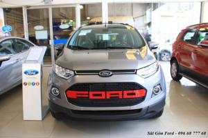 Khuyến mãi mua xe Ford Ecosport Titanium Black 2017, số tự động.
