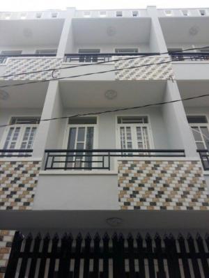 Nhà mới đường số 1,tỉnh lộ 10.DT 4x8m 2 lầu SHR hẻm 5m