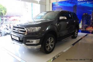 Khuyến mãi mua xe Ford Everest Titanium 2017, số tự động, đủ màu - Hotline: 096 68 777 68 (24/24)