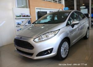 Khuyến mãi mua xe Ford Fiesta Titanium 2018, số tự động, vay trả góp chỉ 100 triệu - Hotline: 0966877768 - Trung Hải (24/24)