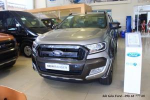 Khuyến mãi mua xe Ford Ranger Wildtrak 3.2L, số tự động, vay trả góp chỉ 150 triệu, giao xe tháng 09/2017