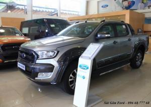 Khuyến mãi mua xe Ford Ranger Wildtrak 3.2L 2017, số tự động, vay trả góp chỉ 150 triệu - Hotline: 096 68 777 68 (24/24)