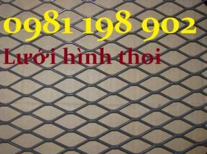 Lưới thép đen 3mm, lưới dập dãn 3mm ô lưới 30x60 giá rẻ tại Hà Nôi, Hưng Yên, Bắc Ninh