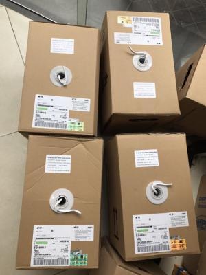 Cáp mạng AMP Cat 5E - UTP - Mã SP: 6-219590-2 Giá : 1.450.000 VNĐ Cable AMP Cat 5E  8 Sợi đồng loại xịn tiết diện(0.5mm). Hàng chính hãng Part number:6-219590-2 Cáp mạng AMP Cat5e UTP 4 đôi (AMP Category 5e UTP Cable (200MHz), 4-Pair, 24AWG, Solid, CM, 305m, White)