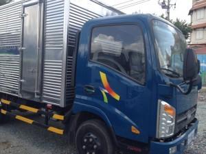 Xe tải Veam Motor đóng thùng kín mới 100%