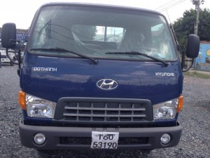 Xe tải hyundai hd99 thùng lửng mới 100% lắp ráp tại nhà máy Đô Thành Việt Nam