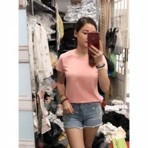 Chuyên áo thun trơn bỏ sỉ, uy tín chất lượng giá sỉ chỉ 24k tại Bình Tân TPHCM