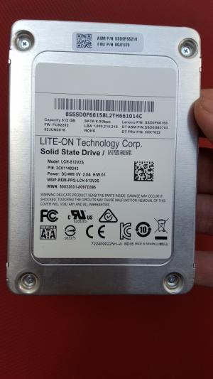 Ổ cứng laptop Lite-On 512GB SSD SATA 3 (chuẩn 2.5inch)