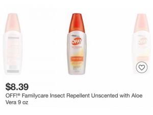 Chai xịt chống muỗi và côn trùng Johnson&Johnson