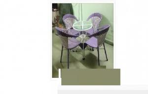 Trực tiếp sản xuất bàn ghế mây giá rẻ