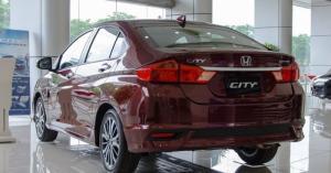 Bán Honda City đời 2017 màu đỏ tại GIA LAI