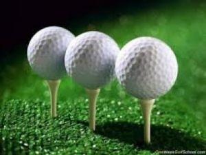 Bóng tập golf 2 lớp, bóng golf nổ khai trương
