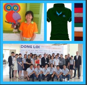 Xưởng may áo thun thành phố Hồ Chí Minh