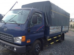 Xe tải Hyundai hd99 thùng mui bạt, mới 100% lắp ráp nhà máy Đô Thành