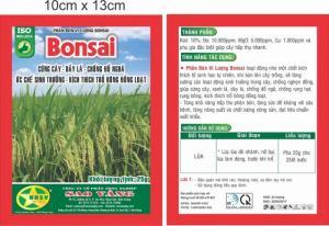 Phân bón vi lượng BonSai công ty cổ phần sao vàng