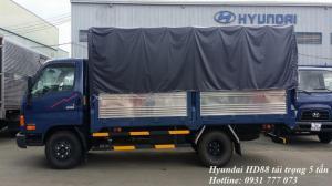 Xe tải Hyundai HD88 5 tấn. Hyundai Đô Thành